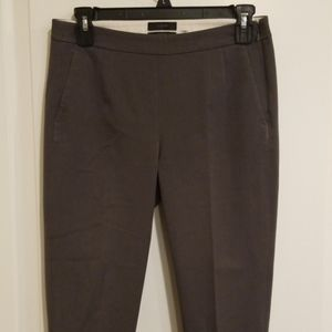 J.Crew Martie Brown Cropped Career Pants size 2